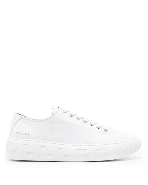 Кеды Greca Versace для него, цвет: White