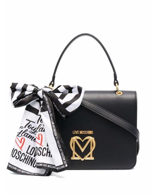 Love Moschino ロゴ ハンドバッグ Black
