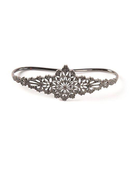 Gaydamak | Black Koral Hand Bracelet | Lyst