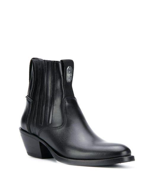 Bruno Bordese Texan ブーツ Black