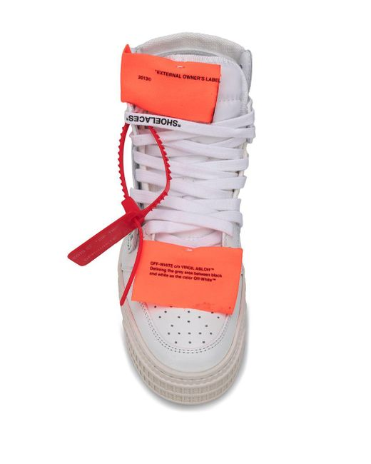 Baskets blanches Off-Court 3.0 High-Top Off-White c/o Virgil Abloh en coloris White