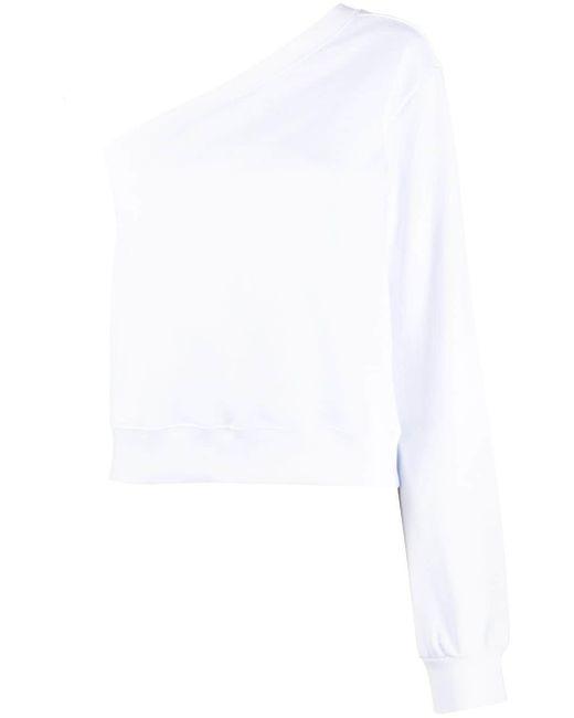 MSGM ワンショルダー スウェットシャツ Multicolor