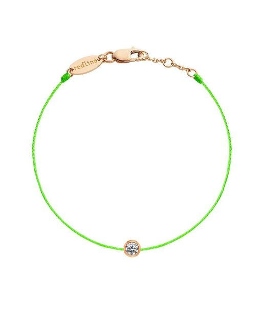 Bracelet en or rose 18ct à diamant RedLine en coloris Green