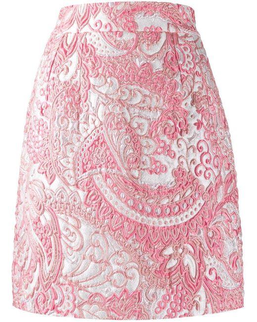 Dolce & Gabbana ハイウエスト スカート Pink