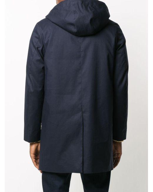 メンズ Mackintosh ジップ ジャケット Blue