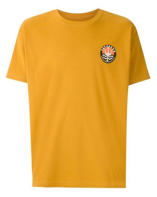 メンズ Osklen Big Arpoador Selo Tシャツ Yellow