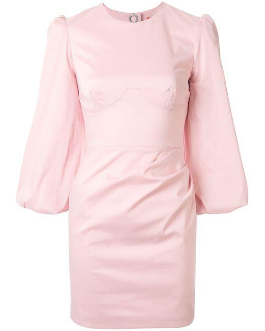 Manning Cartell クロップドスリーブ ドレス Pink