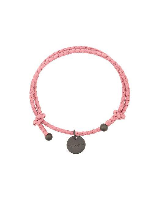 Bottega Veneta   Multicolor Woven Charm Bracelet   Lyst