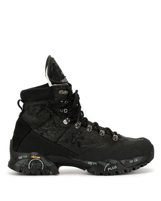 Ботинки Mid Treck Premiata для него, цвет: Black