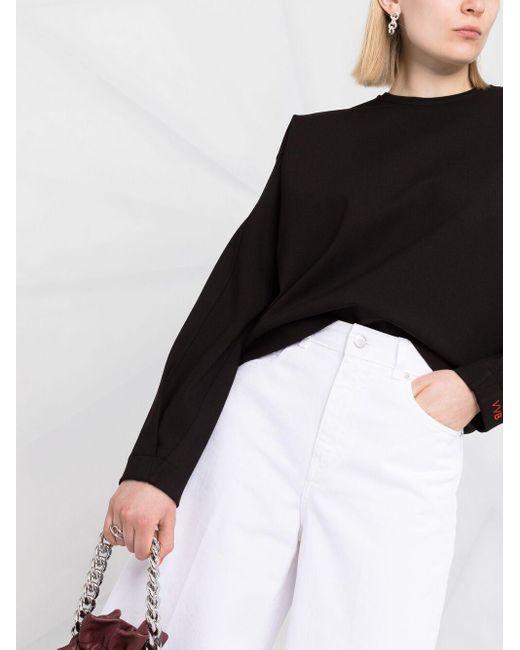 Толстовка С Длинными Рукавами Victoria, Victoria Beckham, цвет: Black