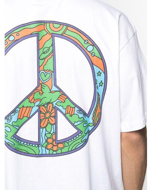 メンズ Chinatown Market Hippie Tシャツ White
