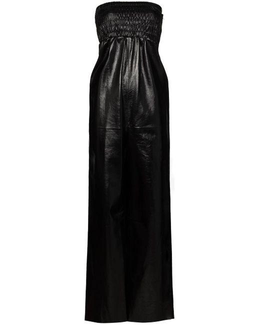 Приталенный Комбинезон Без Бретелей Bottega Veneta, цвет: Black