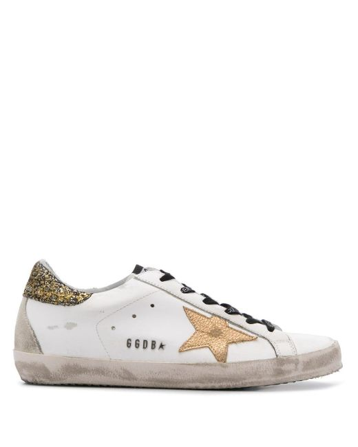 Golden Goose Deluxe Brand White Superstar Low-top Trainers