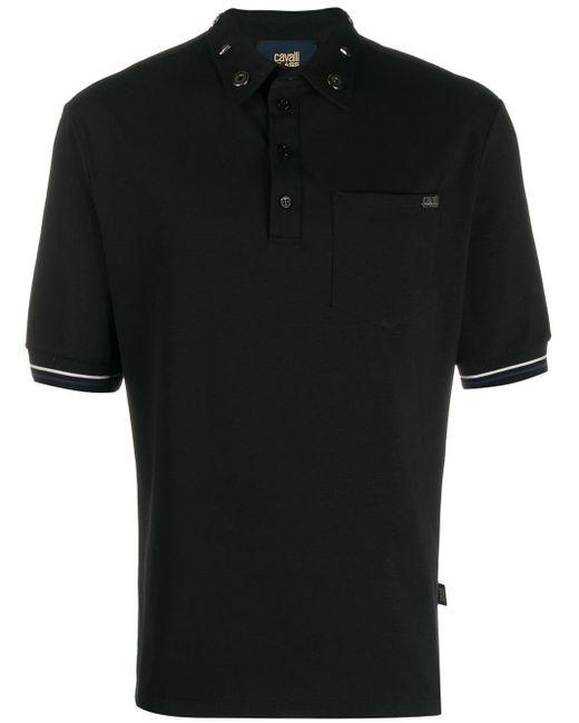 メンズ Class Roberto Cavalli ポロシャツ Black
