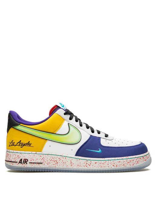 Nike Air Force 1 '07 Lv8 What The La スニーカー Blue