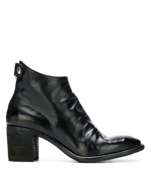 Sarah Ankle Boots Officine Creative, цвет: Black