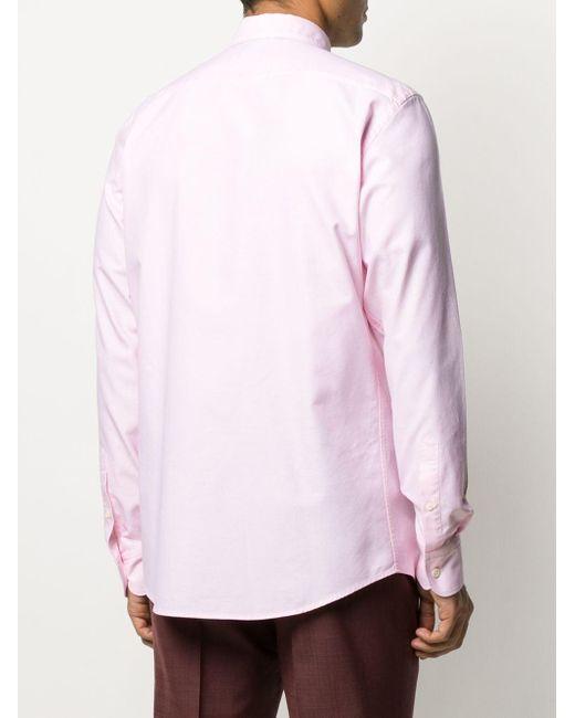 Рубашка На Пуговицах Ermenegildo Zegna для него, цвет: Pink