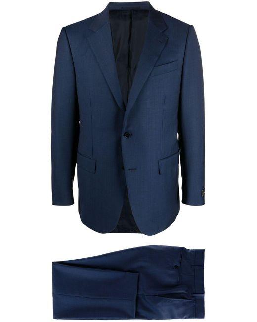 メンズ Ermenegildo Zegna シングルスーツ Blue