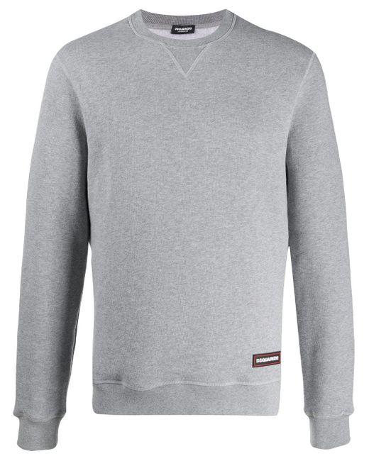 メンズ DSquared² クルーネック スウェットシャツ Gray