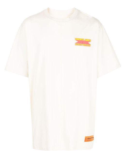 メンズ Heron Preston グラフィック Tシャツ White