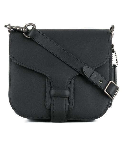 COACH | Black Courier Bag | Lyst