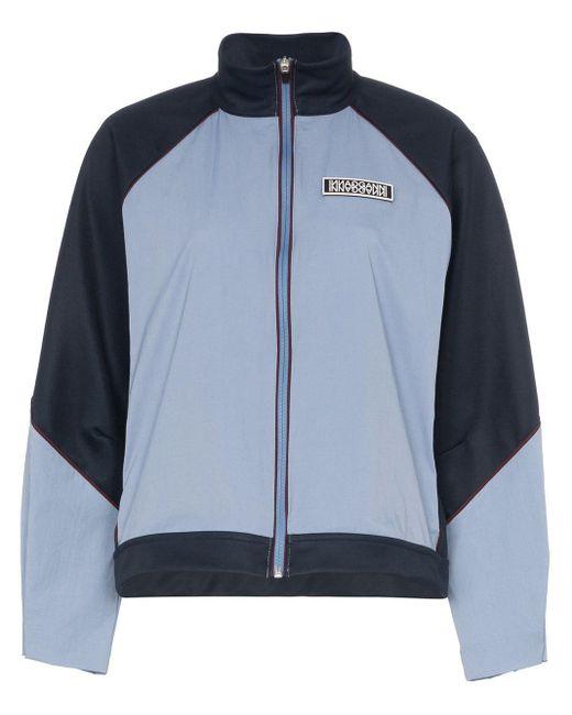 Ganni ブロックカラー ジャケット Blue