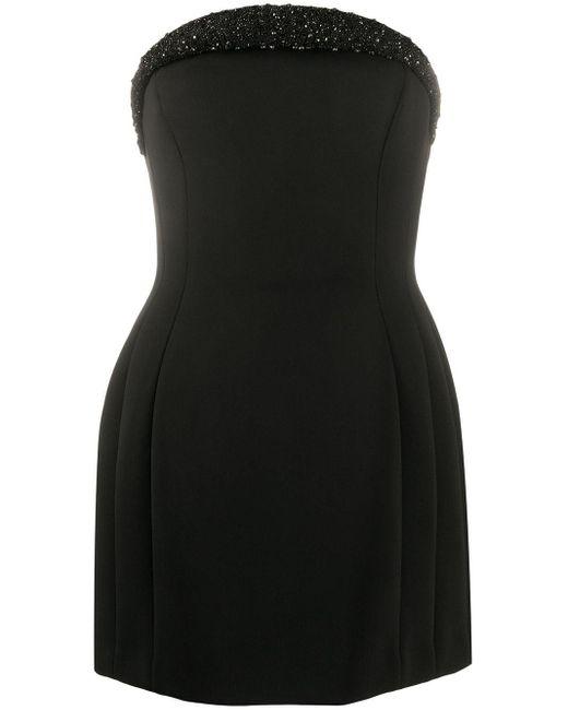 Vestito con decorazione di Versace in Black