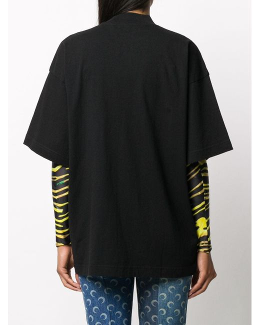 Palm Angels ロゴ Tシャツ Black