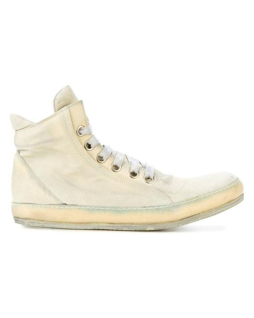 A Diciannoveventitre - Gray High Top Sneakers for Men - Lyst