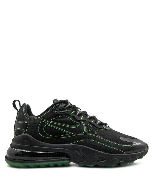 Черные Кроссовки Air Max 270 React Ao4971-004-черный Nike для него, цвет: Black