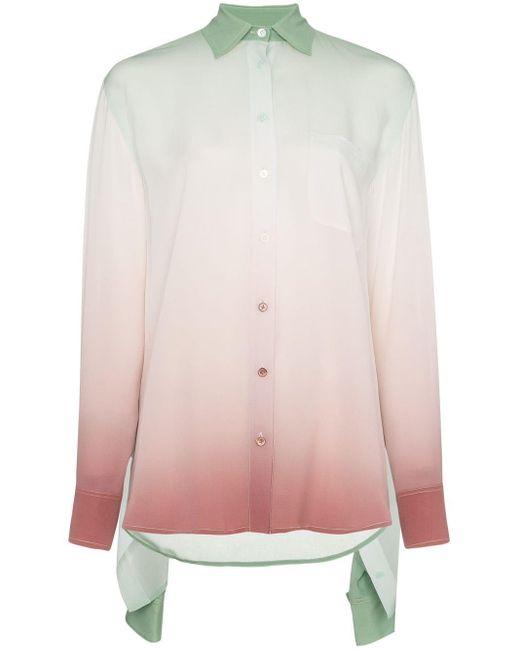 Sies Marjan グラデーション シルクシャツ Multicolor