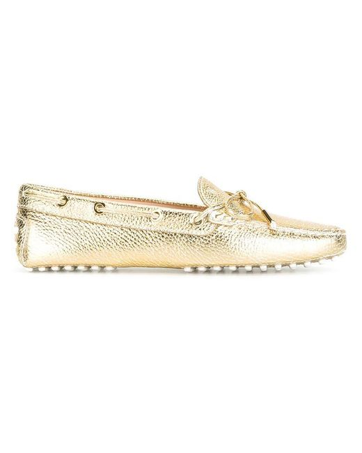 Tod's | Metallic 'heaven' Driving Shoes | Lyst