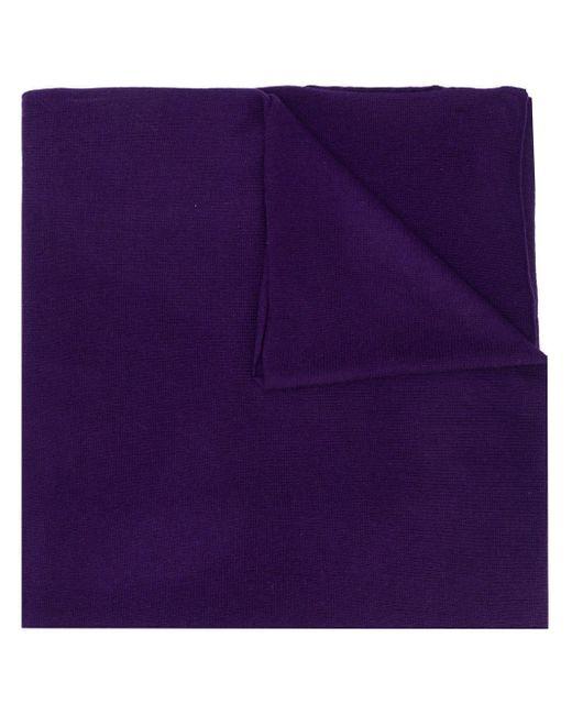 Allude ファインニット スカーフ Purple