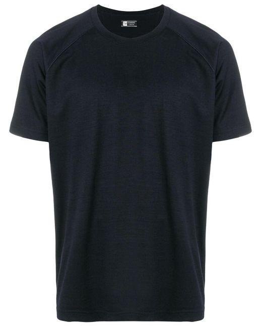 メンズ Z Zegna ウール Tシャツ Blue