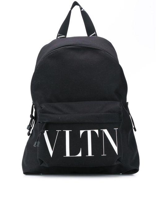 メンズ Valentino Vltn バックパック Black