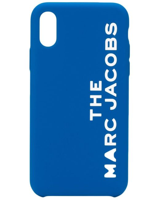Marc Jacobs ロゴ Iphone Xs ケース Blue