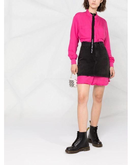 DIESEL シャツドレス Pink