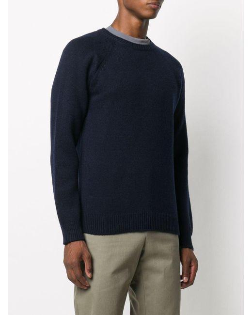 メンズ A.P.C. ファインニット セーター Blue