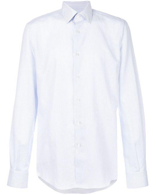 Camicia classica di Fashion Clinic in White da Uomo