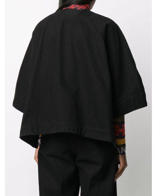 Henrik Vibskov オーバーサイズ ジャケット Black