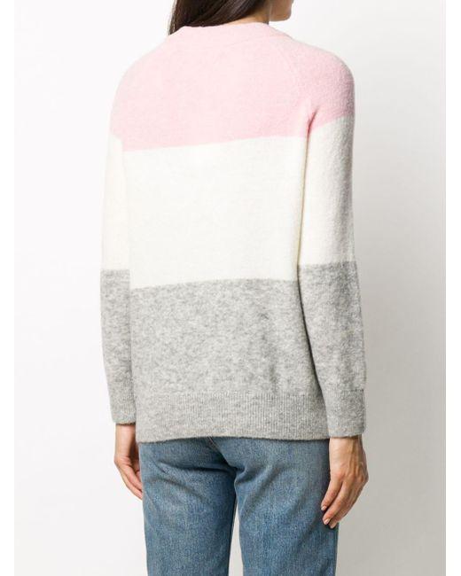 Tommy Hilfiger カラーブロック セーター Pink