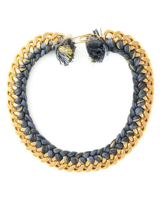 Aurelie Bidermann - Metallic 'do Brasil' Necklace - Lyst