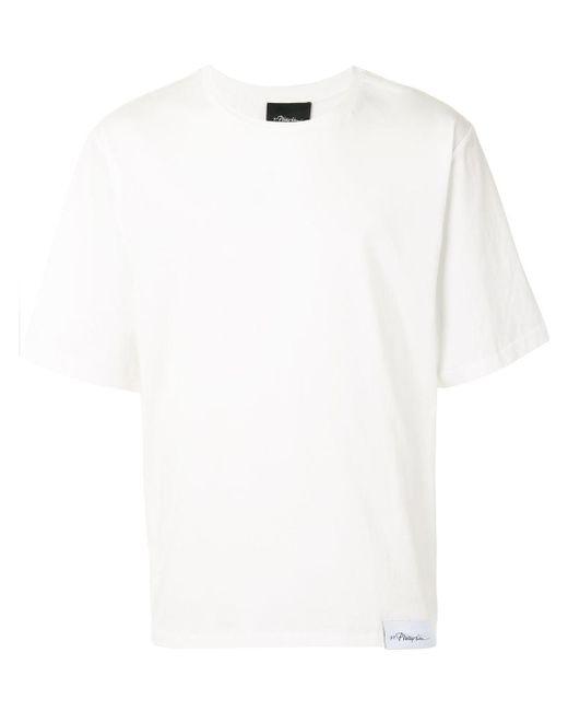メンズ 3.1 Phillip Lim ロゴ Tシャツ White