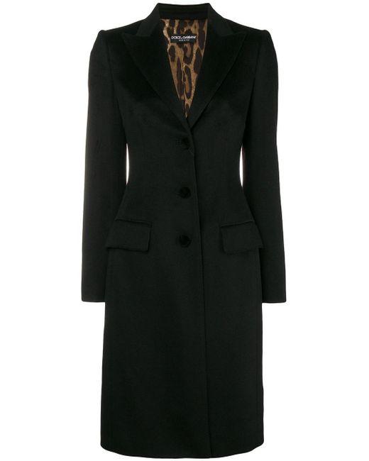 Dolce & Gabbana クラシック シングルコート Black