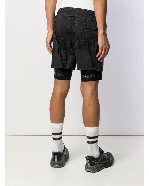 メンズ Satisfy サイクリング ショーツ Black