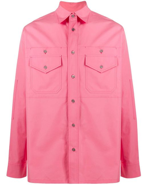 メンズ Marni ロングスリーブ シャツ Pink