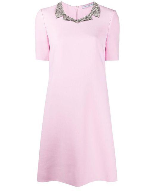 Ermanno Scervino デコラティブカラー ドレス Pink