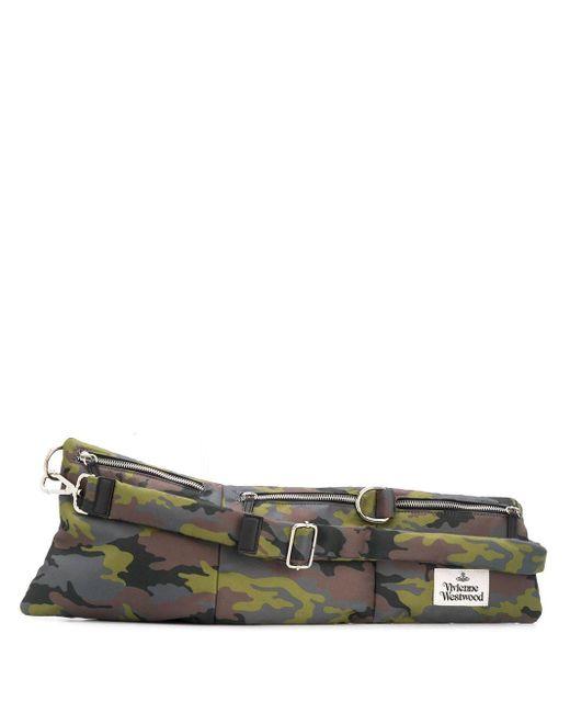 メンズ Vivienne Westwood マルチポケット ベルトバッグ Green