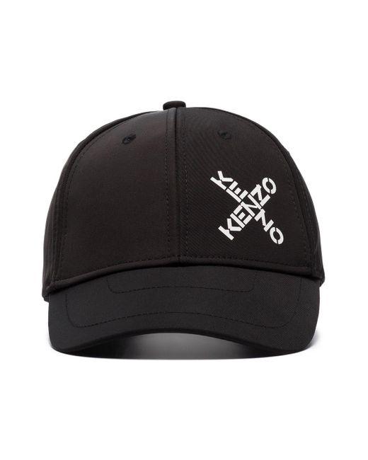 メンズ KENZO ベースボール キャップ Black