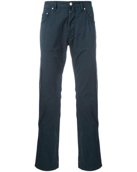 Jacob Cohen - Blue Casual Chinos for Men - Lyst